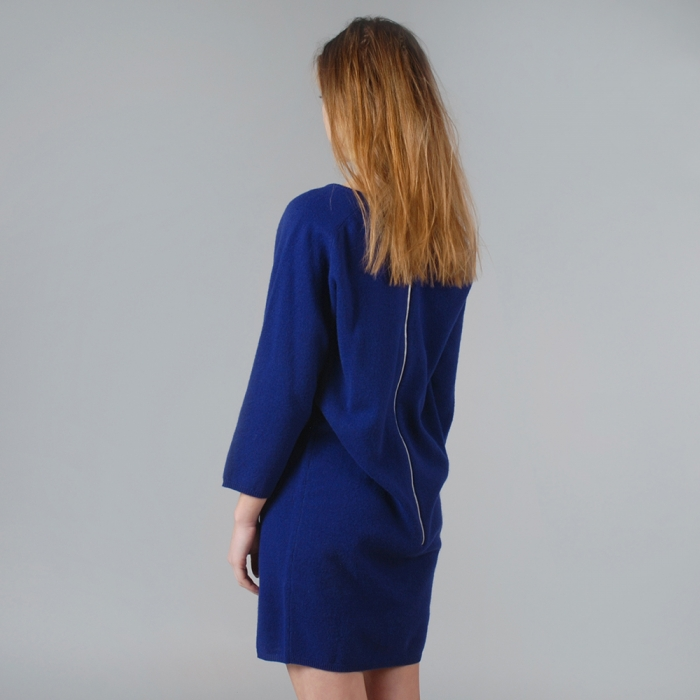 Wood Wood Lis Dress - Energy Blue (Image 1)