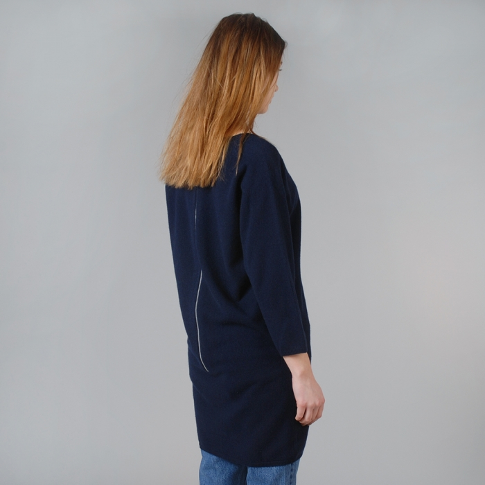 Wood Wood Lis Dress - Navy (Image 1)