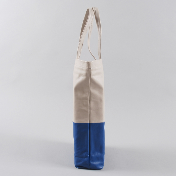 Wood Wood Tote Bag - Blue/Aluminium (Image 1)