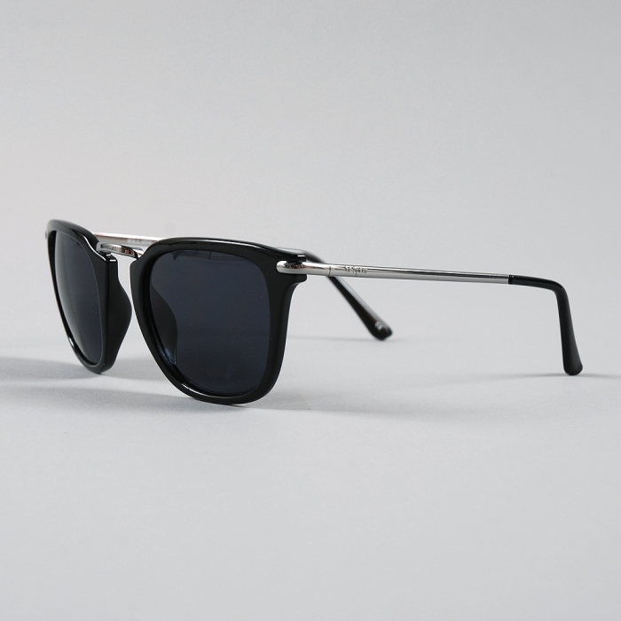 Le Specs Killjoy - Black/Silver (Image 1)