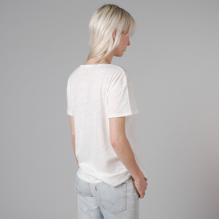 Levi's Vintage Clothing Levis Vintage Bay Meadows Tee - Milk White (Image 1)