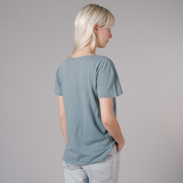 Levi's Vintage Clothing Levis Vintage Bay Meadows Tee - Blue (Image 1)