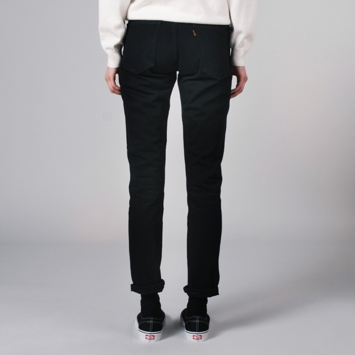 Levi's Vintage Clothing Levis Vintage 606 Jean Customised - Black Overdye (Image 1)