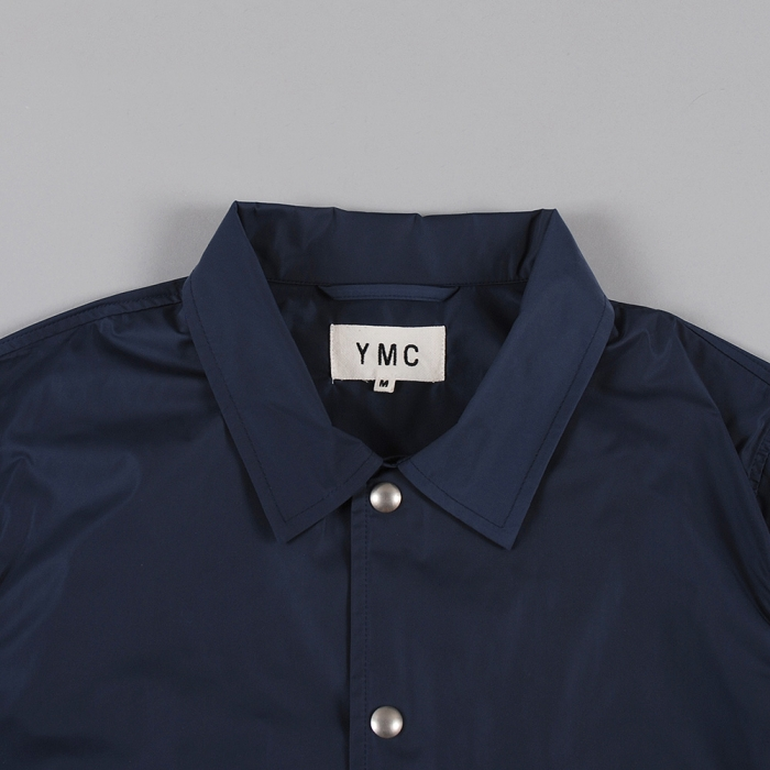 YMC Solid Coach Jacket - Navy (Image 1)
