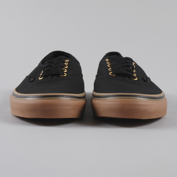 Vans Authentic - Black/Rubber (Image 1)