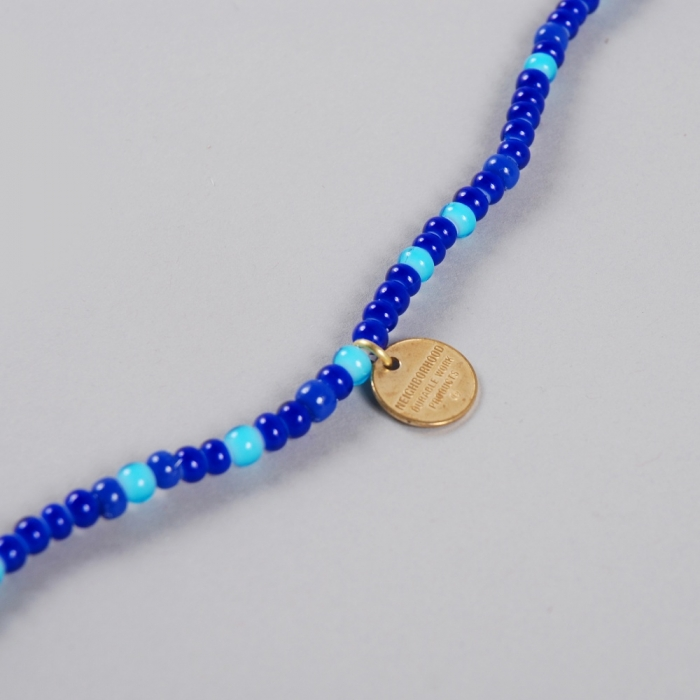 Neighborhood Bead Eye Necklace - Blue (Image 1)