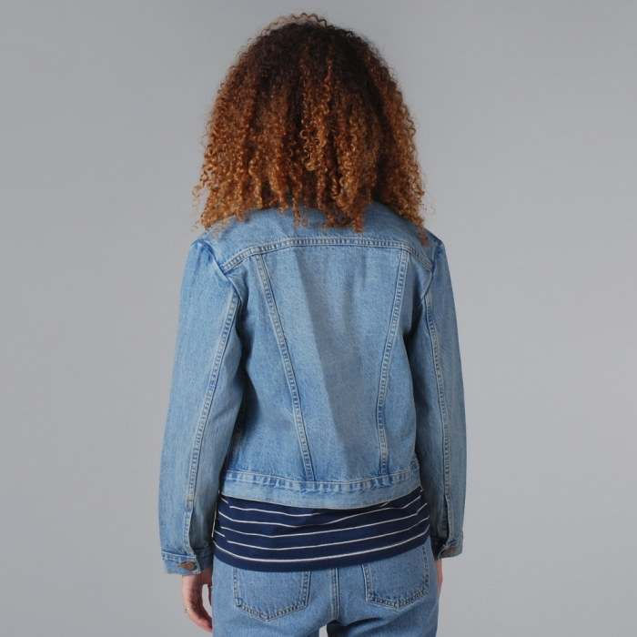 Objects Without Meaning Evie Denim Jacket - Acid Blues (Image 1)