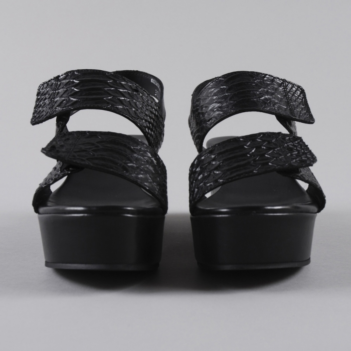 Surface To Air Poly Sandal - Black (Image 1)