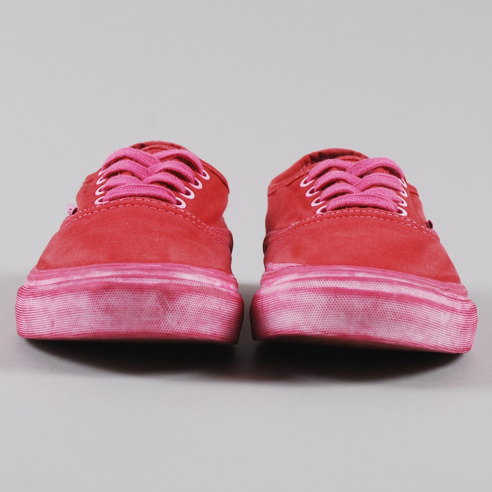 6b85d967f1 Vans Authentic CA Over Washed - Chilli Pepper (Image 1)