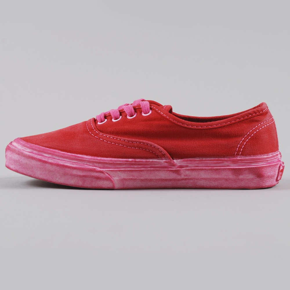 33b334cc16 Vans Authentic CA Over Washed - Chilli Pepper