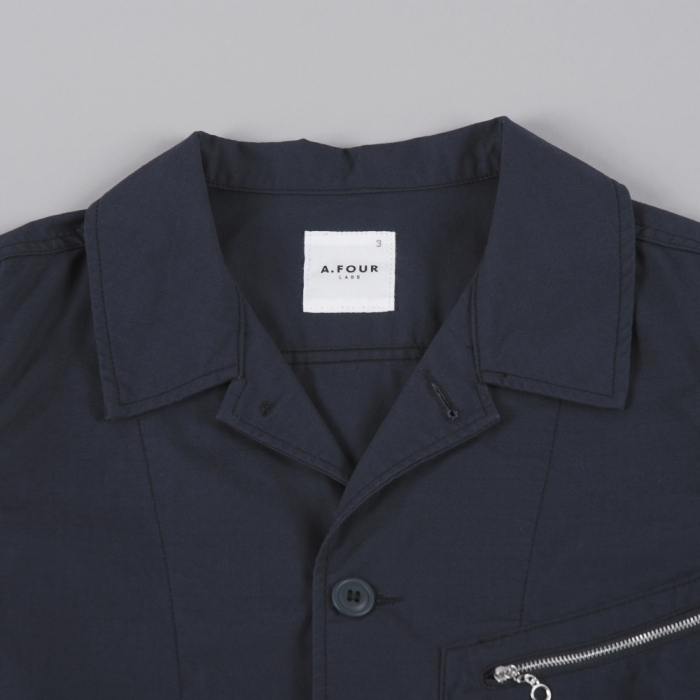 A.FOUR Ripstop Jacket - Charcoal (Image 1)
