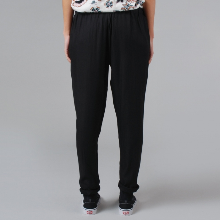 Lonely Hearts Easy Pant - Black (Image 1)