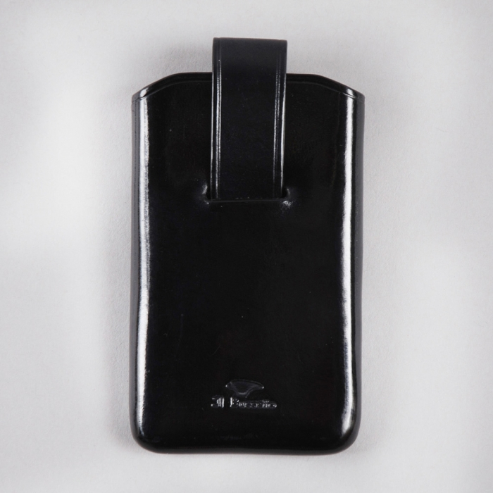 Il Bussetto Popper Card Holder - Black (Image 1)