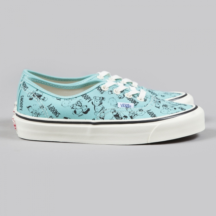 Vans x Snoopy OG Authentic LX Snoopy And The Gang  - Blue Turquo (Image 1)