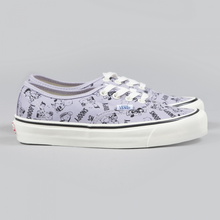 Vans x Snoopy OG Authentic LX Snoopy And The Gang  - Lavender Au (Image 1)