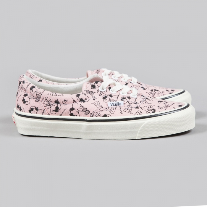Vans x Snoopy OG Era LX Camp Snoopy - Peaches n' Cream (Image 1)