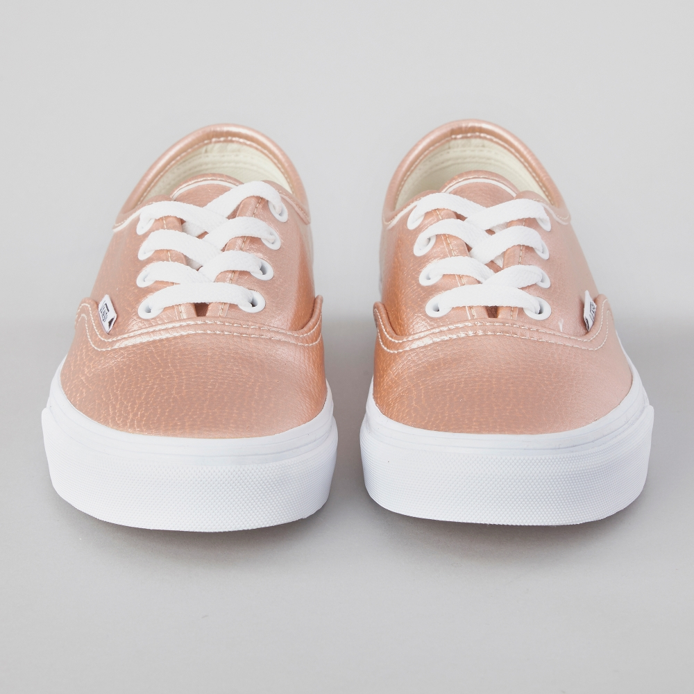 63263ee553b Vans Authentic Glitter Leather - Rose (Image 1)