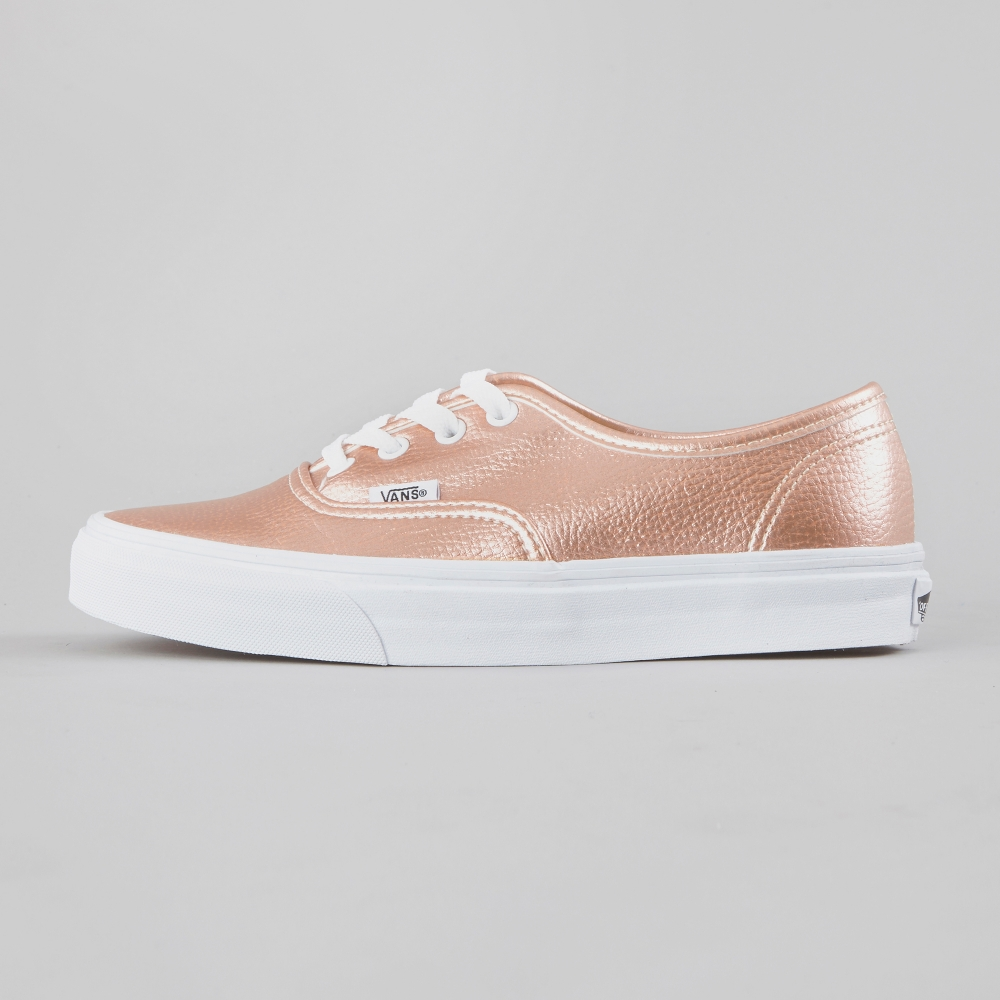 vans authentic rose glitter