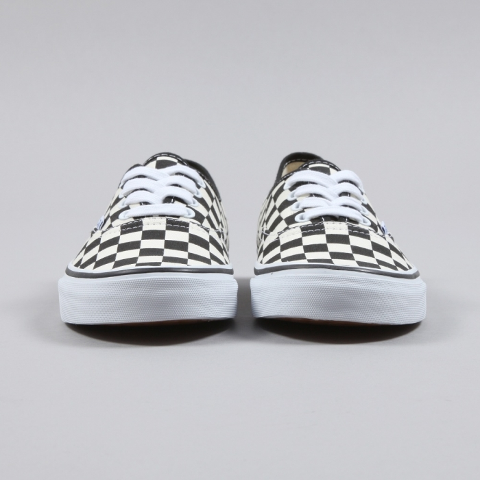 Vans Authentic Golden Coast - Black/White Checker (Image 1)