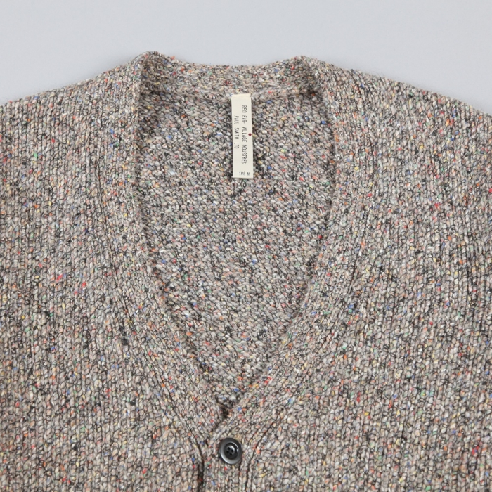 Paul Smith Flecked Wool Knit Cardigan - Taupe (Image 1)