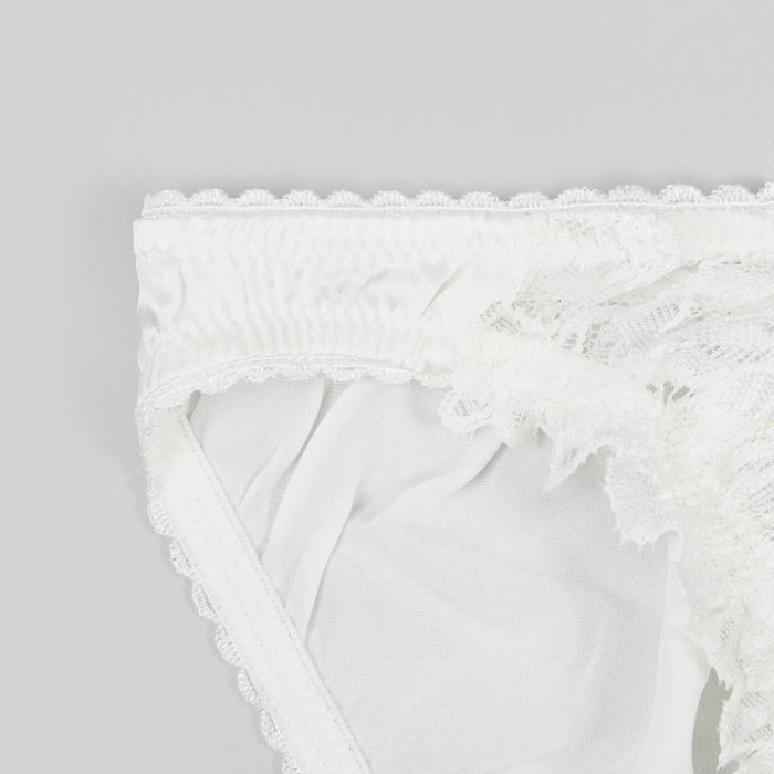 Lonely Flora Brief - Ivory (Image 1)