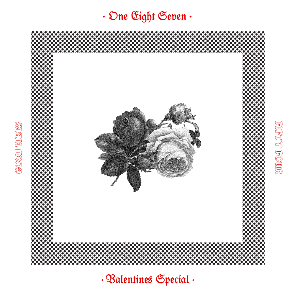 Good Vibes 54 - Valentines Special Mixed by One Eight Seven